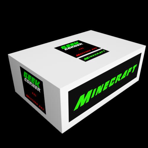 MINECRAFT Mystery Geekbox meglepetés csomag XXL