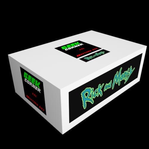 RICK AND MORTY Mystery Geekbox meglepetés csomag XXL