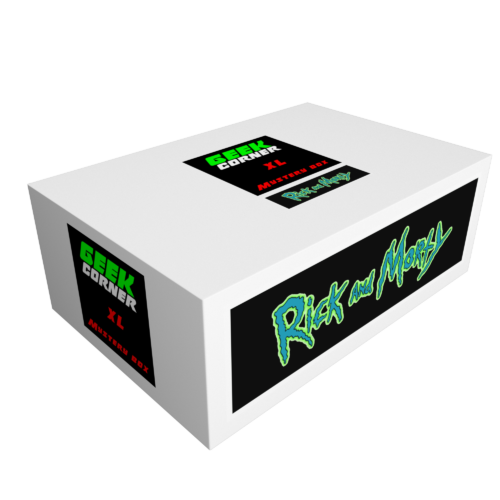 RICK AND MORTY Mystery Geekbox meglepetés csomag XL