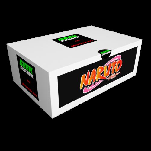 NARUTO Mystery Geekbox meglepetés csomag XXL