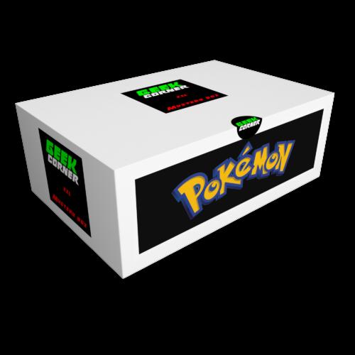 POKÉMON Mystery Geekbox meglepetés csomag XXL