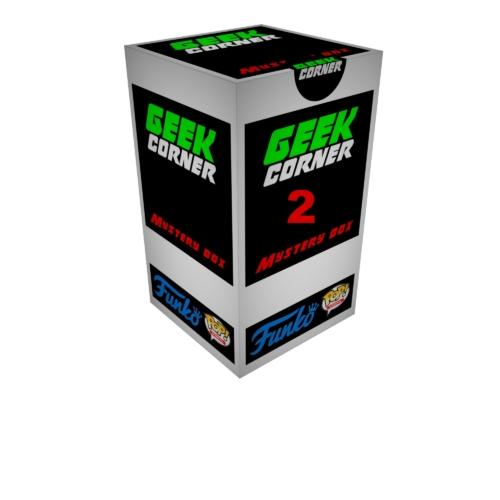 FUNKO POP Mystery GEEKBOX meglepetés csomag x2 darabos