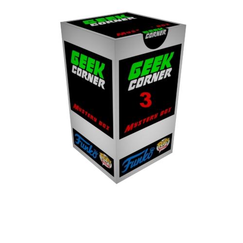 FUNKO POP Mystery GEEKBOX meglepetés csomag 3 db kisebb termék