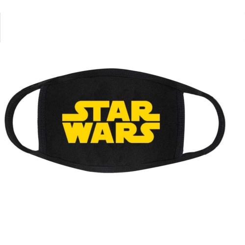 Star Wars logo arc maszk S
