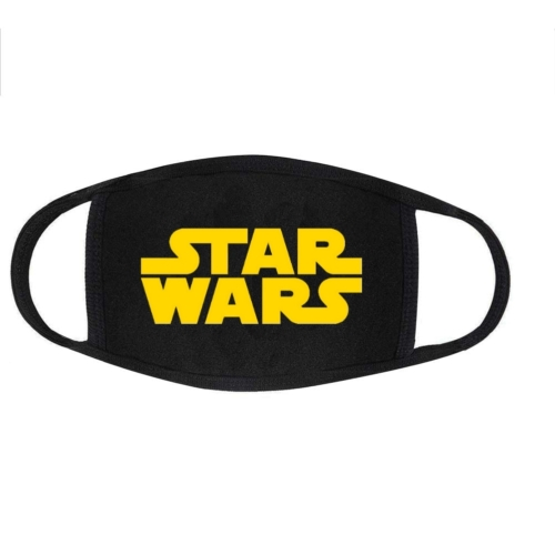 Star Wars logo arc maszk S