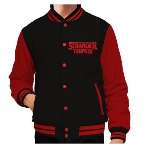 Stranger Things logo college dzseki M