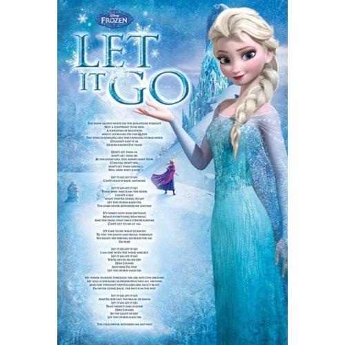 Disney Frozen - Let it go poszter PP33465