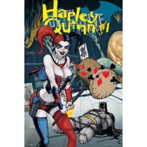 DC HARLEY QUINN Comic poszter