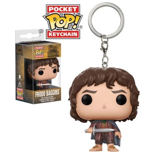 PoP! Lord Of The Rings Gyűrűk Ura Frodo POP figurás kulcstartó