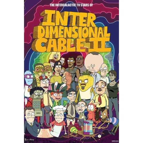 Rick and Morty Interdimensional Cable II poszter pp34264