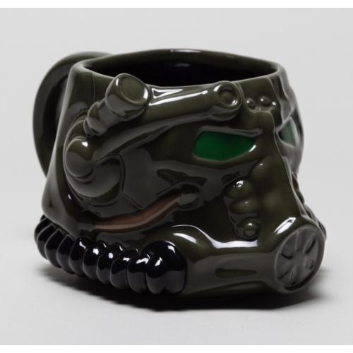 FALLOUT helmet sisak 3D bögre 500 ml