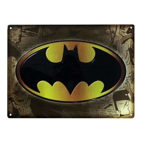 Batman fém plakát