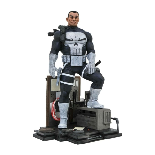 Marvel Comic Gallery PVC Diorama The Punisher szobor