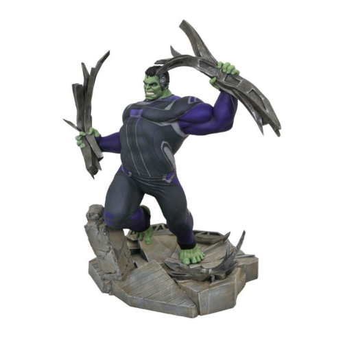 Avengers Endgame Marvel Movie Gallery PVC Hulk Tracker Suit Diorama 38 cm szobor