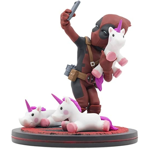 Deadpool Unicornselfie Q fig figura