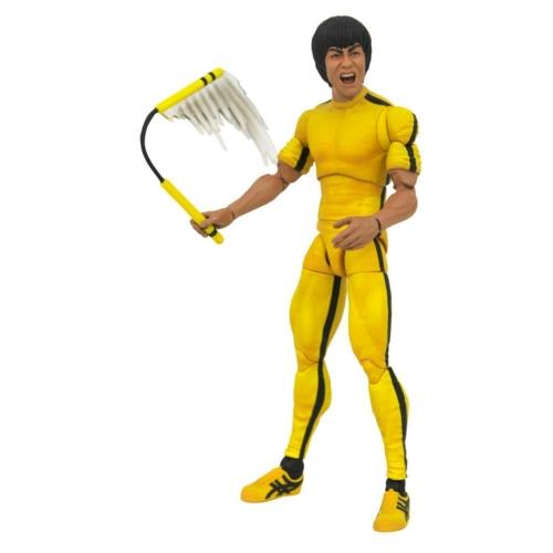 BRUCE LEE Select Action Figure Yellow Jumpsuit mozgatható figura 18 cm