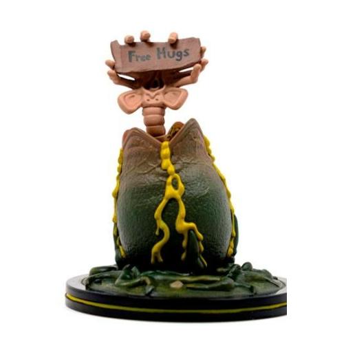 Alien Q-Fig Diorama Facehugger 9 cm mini szobor
