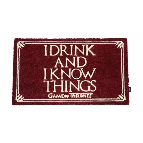 Game of Thrones Trónok Harca I Drink And I Know Things 43 x 72 cm lábtörlő