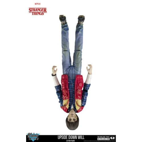 Stranger Things Action Figure Upside Down Will mozgatható figura 18 cm