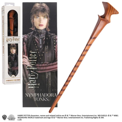 Harry Potter PVC Wand Movie Replica Nymphadora Tonks varázspálca 30 cm