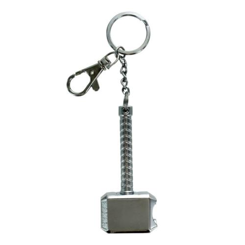 MARVEL Keychain with Bottle Opener Thors Hammer Mjölnir sörnyitó fém kulcstartó 8 cm