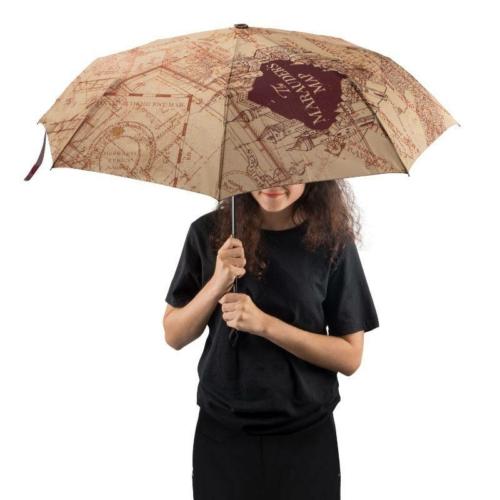 HARRY POTTER Marauder Map Tekergők térképe prémium automata esernyő