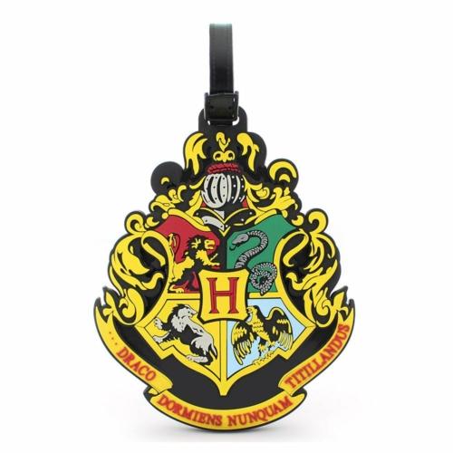 Harry Potter táska poggyászcímke Hogwarts Roxfort