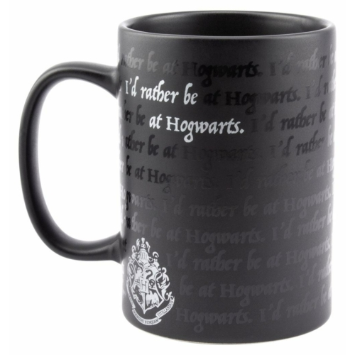 Harry Potter exkluzív bögre I Would Rather Be At Hogwarts Roxfort