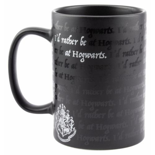 Harry Potter exkluzív I Would Rather Be At Hogwarts Roxfort feliratú bögre 300 ml