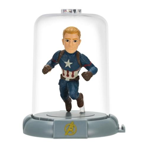 Marvel Avengers Endgame Bosszúállók Domez Amerika kapitány Mini 7 cm figura
