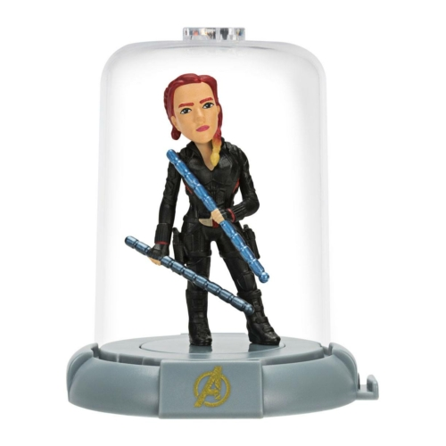 Marvel Avengers Endgame Bosszúállók Domez Black Widow Mini 7 cm figura