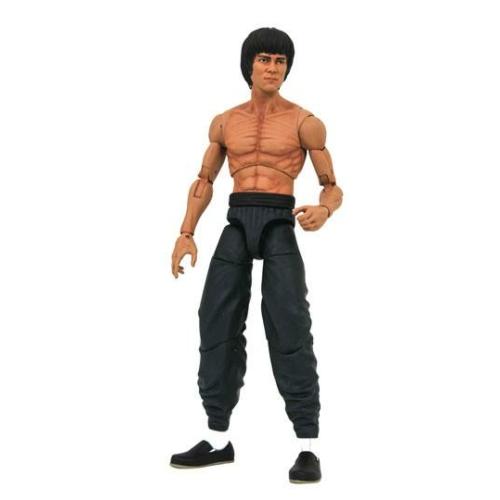 Bruce Lee Select Action Figure shirtless Bruce Lee mozgatható figura
