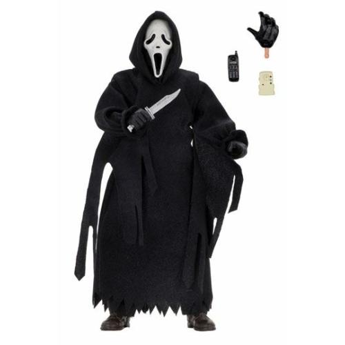 Scream Retro Action Figure Ghostface (Updated) A Sikoly mozgatható 20 cm figura