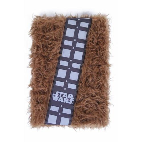 Star Wars Prémium Plüss jegyzetfüzet A5 Chewbacca