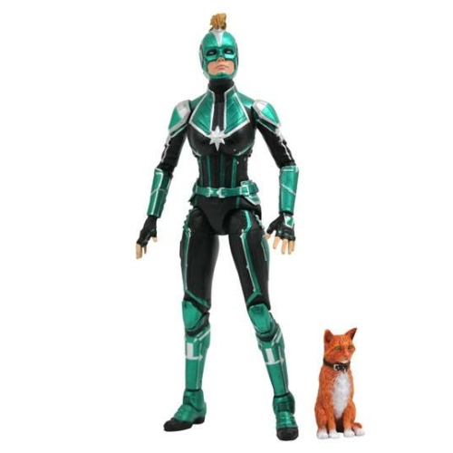 Marvel Select mozgatható akció figura Captain Marvel Starforce Uniform 18 cm