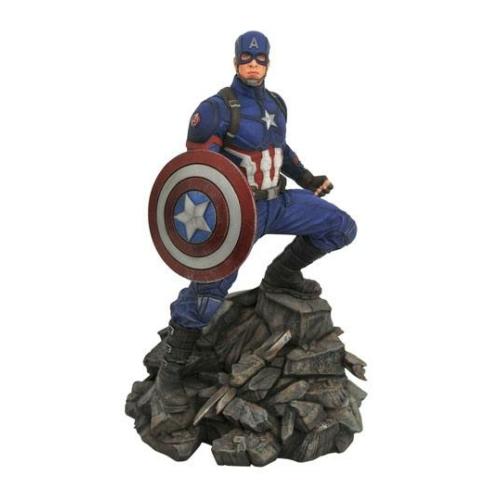Limitált Avengers: Endgame Marvel Movie Premier Collection Captain America Amerika Kapitány szobor 30 cm