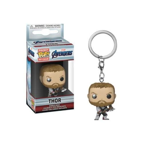 MARVEL PoP! Avengers Endgame Pocket POP! Kulcstartó figura Thor 4 cm