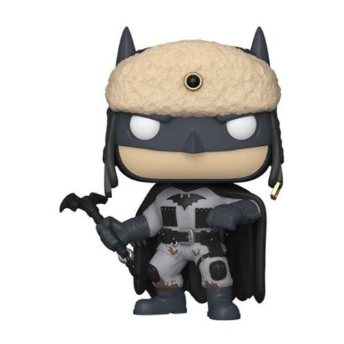 Batman 80th POP! Heroes Red Son Batman (2003) figura 9 cm
