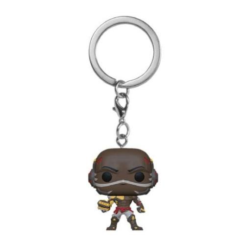 POP! Overwatch Pocket POP! Kulcstartó figura Doomfist 4 cm