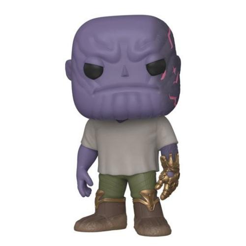 Avengers: Endgame POP! Movies Casual Thanos w/Gauntlet figura 9 cm