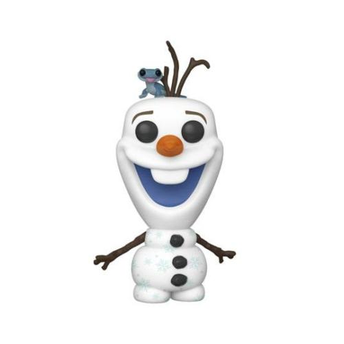 Frozen 2 POP! Disney Jégvarázs Olaf with Bruni figura 9 cm