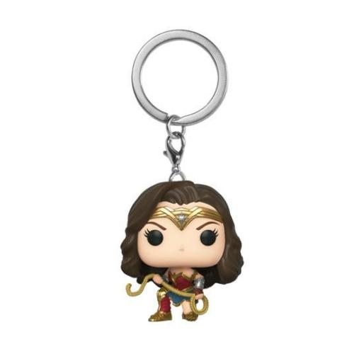 Wonder Woman 1984 Pocket POP! Kulcstartó figura Wonder Woman 1984 w/ Lasso 4 cm
