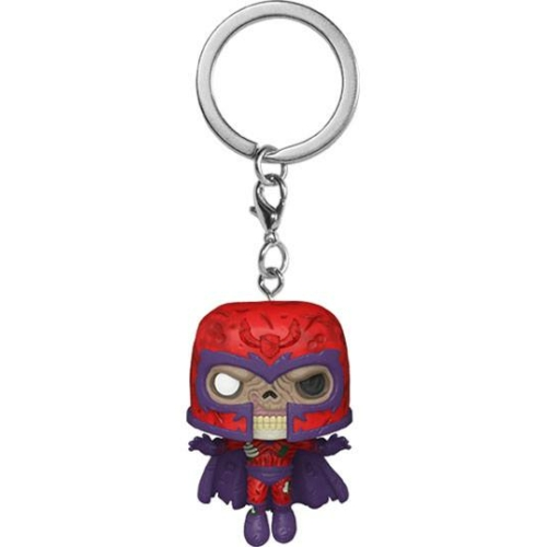 PoP! Marvel Pocket POP! Kulcstartó figura Zombie Magneto 4 cm