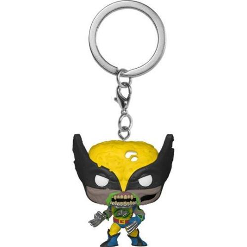 MARVEL Pocket Funko  POP! Kulcstartó figura Zombie Wolverine Rozsomák 4 cm