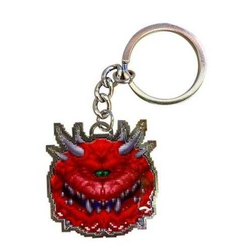 Doom Cacodemon Limited Edition fém kulcstartó 4 cm