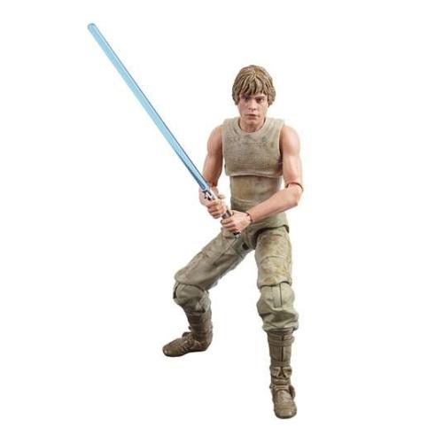 Star Wars Episode V Black 40th Anniversary 2020 Wave 3 Luke Skywalker (Dagobah) mozgatható 15 cm figura