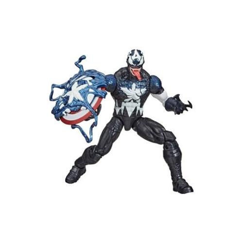 Spider-Man: Maximum Venom Marvel Legends Series mozgatható Akció Figura Venomized Captain America Amerika Kapitány figura 16 cm