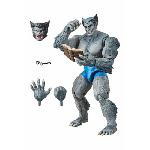 Marvel Legends Series Vintage Collection Akció Figura Marvel's Beast A Bestia cserélhető fejjel (The Uncanny X-Men) 15 cm mozgatható figura