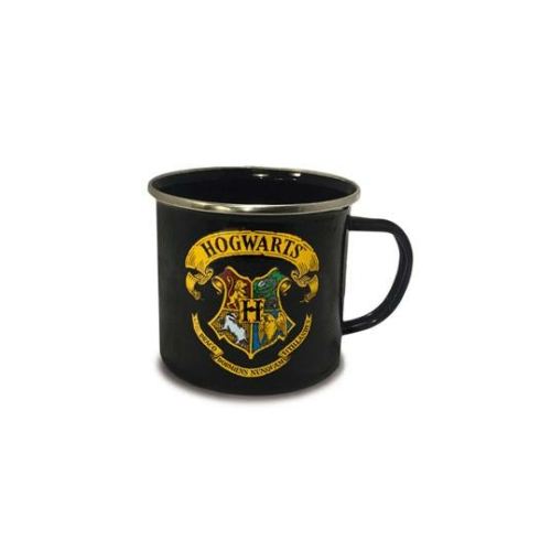 Harry Potter fém bögre Hogwarts Roxfort Logo 400 ml