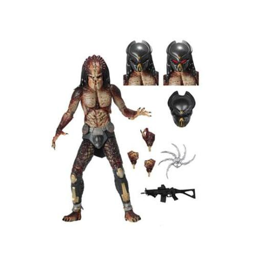 Predator 2018 mozgatható akció figura Ultimate Fugitive Predator (Lab Escape) 20 cm